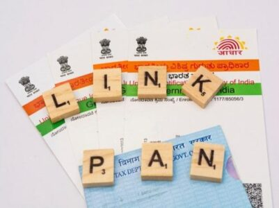 How to link Aadhar with pan
