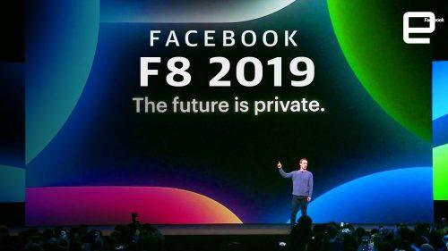 Facebook introduced dark mode desktop design