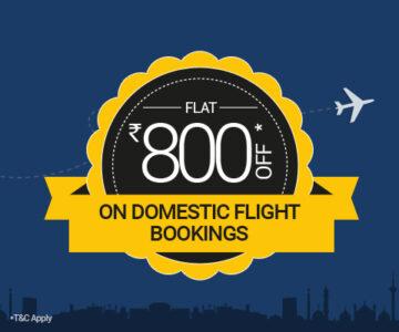 Latest Domestic Flight Offers till 31st June