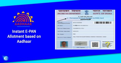 Apply for e pan card now