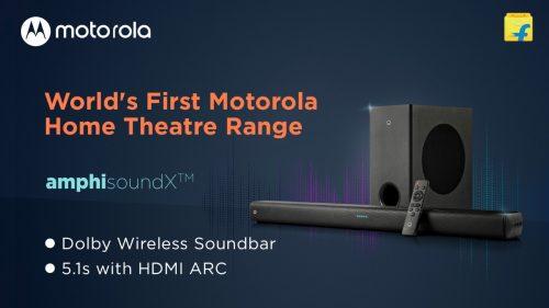 Flipkart Discount on Motorola Home Theatre