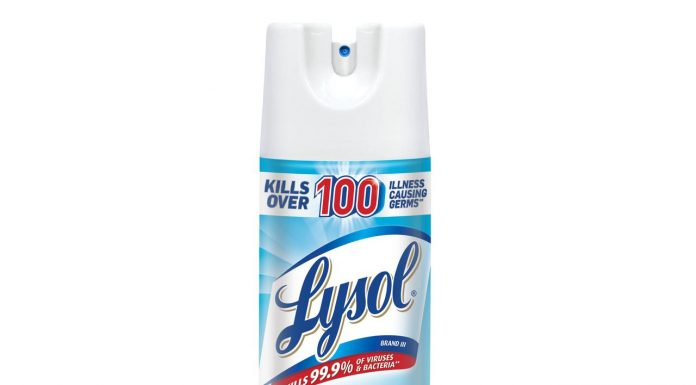 Lysol Disinfectant Spray gets green signal from EPA to Combat COVID-19
