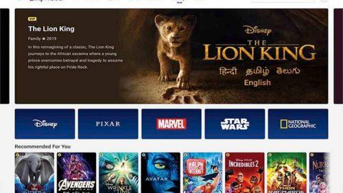 Disney+Hotstar Subscription Receives a Price Cut