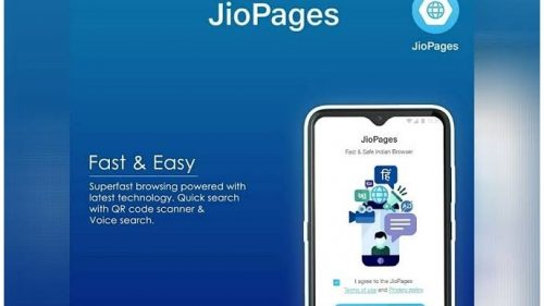 Jio Launched Made In India JioPages Browser