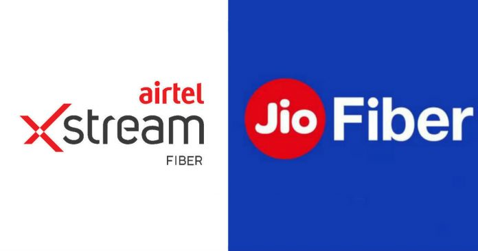 Airtel Xstreme V/S Jio Fiber, Which One Should You Go For?