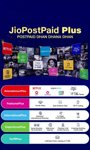 Reliance Jio Introduces Carry Forward Limit for Its Postpaid Plan