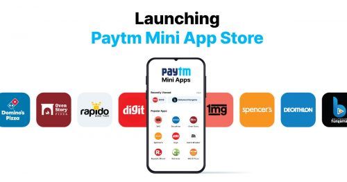 Paytm Mini Appstore Launched