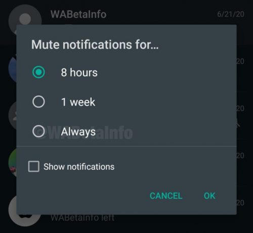 """How to set your Whatsapp Chat option to """"Always Mute'? Checkout"""