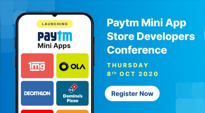 Paytm Mini Appstore Launched For Developers, Apps Like Dominos and Ola to be Hosted