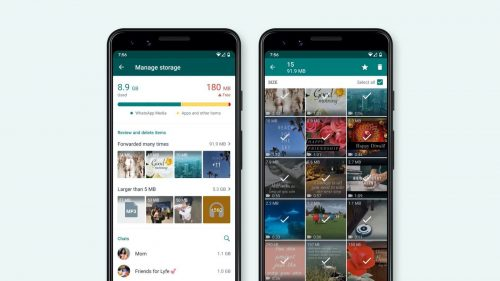 Whatsapp Data Filling Your Storage, How To Manage Using This New Storage Management Feature