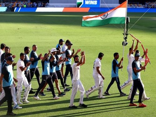 Congratulations to India for biggest ever test series win against Australia