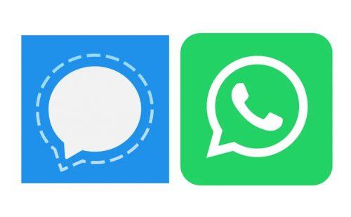 WhastApp or Signal