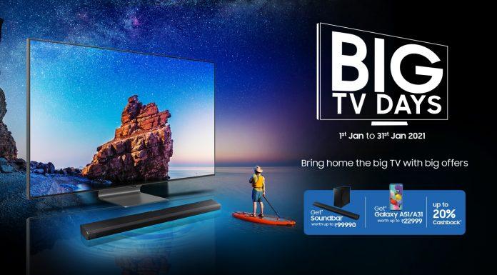 Samsung Big TV days