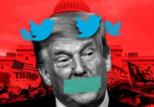 Ban on Trump's Facebook