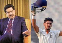 Aditya Birla Group's Heir Becomes a Hotshot Cricketer