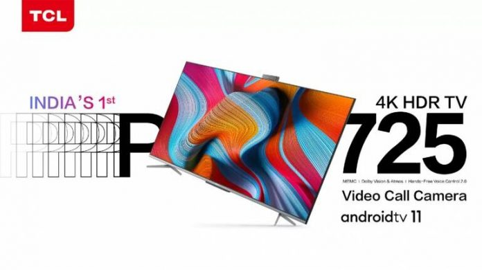 TCL Electronics Launches India's First Android 11 Smart TV With Video Calling Feature
