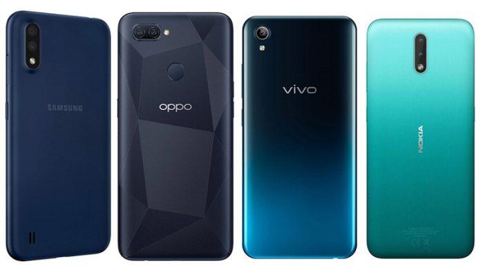10 Best smartphones under ₹10,000 in 2021 in India