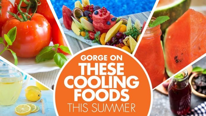 Five Foods You Need to Keep the Summer Tolerable.