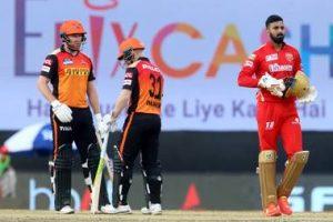 Sunrisers Won Against Punjab Kings