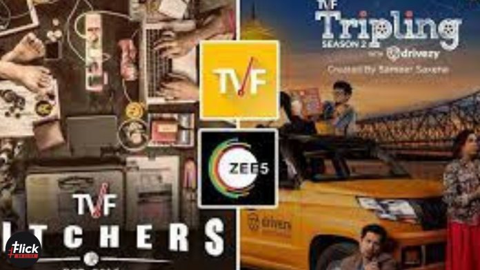TVF Announced Collaboration With Zee05 and Pitchers Season 02 Along With New Seasons Of another Popular Shows