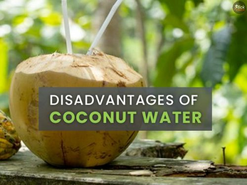 Disadvantages of Coconut Water