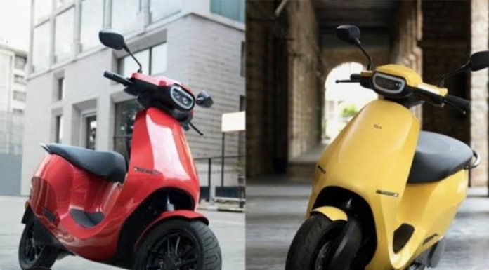 Ola Launches S1 Electric Scooters for Rs. 99,999