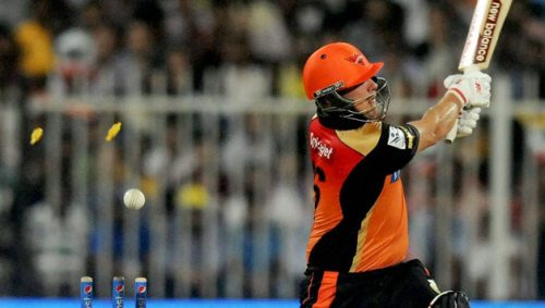 Aaron finch can be a replacement  of David Warner for SRH