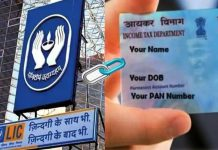 Follow these steps to link your pan card with LIC Policy